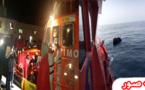 سفينة سياحية تنقذ 19 مهاجرا سريا أبحروا من شواطئ الحسيمة وتاهوا وسط بحر البوران