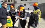 حملة تحسيسية حول السلامة الطرقية بالناظور