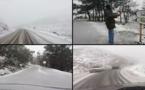الثلوج تُغطي فرخانة وبني أنصار وغابة غوروغو