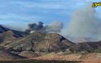 الدريوش.. إندلاع حريق بمساحة غابوية بمنطقة تاوردة وعناصر الوقاية المدنية تسابق الزمن لاحتوائه