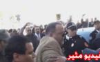 مثير.. القوات العمومية تعنف الملياردير فوزي الشعبي وتسقطه أرضا