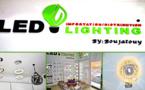 """افتتاح محل """"ليد ليغتينغ"""" المتخصص في بيع  المصابيح الكهربائية العصرية وديكورات وأشكال الإضاءة الحديثة"""