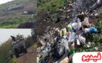 """ناشط يوثق بالصوت والصورة جريمة بيئية ترتكبها جماعة بوعارك في حق غابة """" ثاقبوشت"""" الطبيعية"""