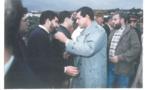 صورة من الأرشيف.. عندما حضر العنصر أمين عام الحركة الشعبية لتعزية طارق يحيى بالناظور