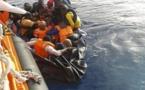 إنقاذ 32 مهاجرا غير نظامي ضمنهم نساء في عرض بحر البوران بعد انطلاقهم من شاطئ بويافر