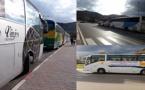 """مهنيو حافلات النقل العمومي """"يضربون"""" احتجاجا على منعهم من استعمال طريق الناظور الحسيمة الساحلي"""