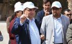 """المسؤول الأول بوكالة """"مارتشيكا"""" يتفقد الأوراش الجارية بكورنيش الناظور وحيّ تاويمة للوقوف على وتيرة أشغالها"""