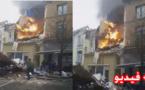 انفجار في بروكسل.. 7 مصابين ومبنيان مدمران