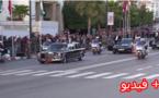 بالرغم من تحذيرات وزارة الداخلية.. مواطن يعترض موكب الملك محمد السادس و العاهل الأردني