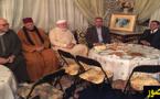 وفد من المجلس الإقليمي للناظور يقوم بزيارة مواساة للزاوية الكركرية بجماعة تيزطوطين