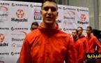 منتخب الكاراطي وبينهم البطل الناظوري أشرف أوشن يرحب بالمنتخبات المشاركة في البطولة العالمية