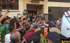 فيديو وصور.. إعادة تمثيل وقائع جريمة قتل صحافي مغربي داخل شقته
