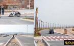 """بعد 15 شهرا من الإغلاق.. مارتشيكا تفتح الطريق عبر قنطرة """"وادي بوسردون"""" بمدخل كورنيش مدينة الناظور"""