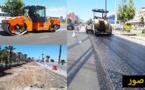مارتشيكا نتقوم بأشغال توسعة الطريق بمدخل الناظور لخفض حدة الاكتظاظ