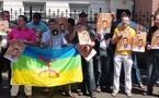 وقفة احتجاجية أمام السفارة المغربية بهولندا