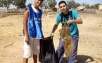 حملة نظافة بحي الوحدة بسلوان