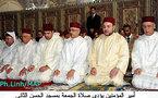الملك يُصلي الجمعة بمسجد الحسن الثاني بأزغنغان
