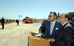 جلالة الملك يعطي انطلاقة الشطر الأول للتنمية السياحية بإقليم الناضور