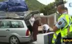السلطات الفرنسية تفحص سيارات الجالية وتغرم الحمولات الزائدة