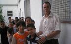 مغاربة مانيو برشلونة يستفيدون من أنشطة السلام
