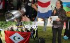 وقفة أوتريخت : التضامن مع حراك الريف يتوالي  وقرع الاواني يعبر الحدود الى هولندا