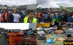 رغم العيد.. مسيرة ضخمة ببروكسيل تضامنا مع نشطاء الحراك بالريف