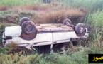 إصابة ثلاثة أشخاص في حادثة سير خطيرة وسط الناظور