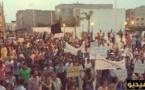 مسيرة إحتجاجية بالعروي تضامنية مع معتقلي الحراك ومشاركة نسائية وازنة