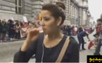 بالفيديو.. ريفية مقيمة بالخارج  تغالب دموعها وهي تتحدث عن أحداث الريف