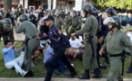 الداخلية: المتضامنون مع الحسيمة في الرباط تظاهروا بالاغماء بعد تعنيفهم للأمن لفظيا وبدنيا