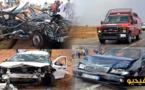 """بينهم طفلان ورضيع.. إصابة 7 أشخاص في حادثة سير """"كارثية"""" بالدريوش"""