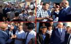 تمسمان.. عامل إقليم الدريوش في زيارة تفقدية لساكنة منطقة آيت عزى وهذا ما بشّرها به