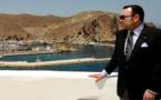 الملك محمد السادس يصل إلى مدينة الحسيمة