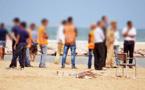 سلطات الناظور تتدخل لإخلاء الشاطئ الاصطناعي بكورنيش الناظور