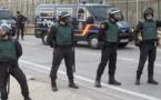 """شرطة مليلية تستنفر عناصرها تفاعلاً مع الحادث """" الإرهابي"""" ببرشلونة"""