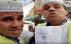 """بالفيديو: مهاجر مغربي يهاجم """"محتالا"""" ينصب على المسلمين باسم جمعية تطلب الدعم لبناء مسجد"""