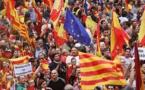اندلاع احتجاجات فى برشلونة عقب توقيف السلطات الإسبانية لقياديين بكتالونيا