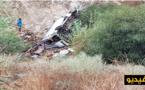 بالفيديو.. نجاة سائق من موت محقق بعد أن هوت به السيارة في منحدر عميق على الطريق الساحلية