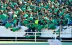 إصابات وجروح بين مشجعي الرجاء إثر سقوط جماعي من حافة الملعب