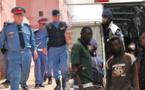 توقيف 34 مهاجرا سريا من دول جنوب الصحراء بشاطئ شملالة بامجاو اقليم الدريوش