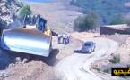 ربورتاج: أشغال فتح المسالك الطرقية بين الجماعات والدواوير لفك العزلة عن الساكنة بإقليم الدريوش