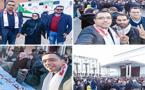 حضور وازن لممثلي إقليمي الناظور والدريوش في المسيرة  الوطنية للمتصرفين المغاربة بالرباط