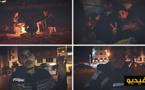 هكذا يقضي شباب في مقتبل العمر حياة التشرد بشوارع الناظور في عز ليالي الشتاء الباردة