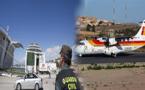 إلغاء عدد من الرحلات الجوية والبحرية من والى مدينة مليلية المحتلة