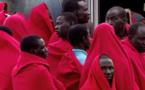 الحرس المدني ينقذ 37 مهاجرا غير شرعي تعرضوا للغرق على متن قارب مطاطي