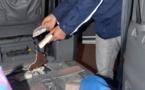 توقيف مواطن عراقي حاول تهريب كمية من المخدرات عبر المعبر الحدودي ببني انصار