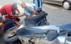 رجل مسن يلفظ أنفاسه متأثرا بإصاباته البليغة إثر حادث سير خطير بالدريوش