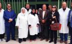 مندوبية الصحة بالناظور تستقبل مؤسسة مريم للاعمال الخيرية من هولندا من اجل الشراكة والتعاون