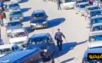 فضيحة حقوقية: شاهد اهانات شرطة مليلية للمغاربة.. اعتداء بالهراوات وتكسير السيارات وسب الذات الإلهية