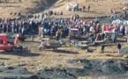 إحتجاجات ليلية تفشل محاولة دفن ضحيتي مناجم الفحم بجرادة
